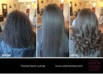 Natural Hair Before & After